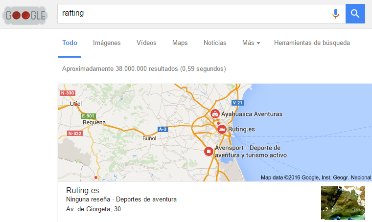 Google Maps, Google Places y Google My Business
